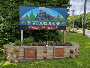 Woodridge Rail Trail Sign